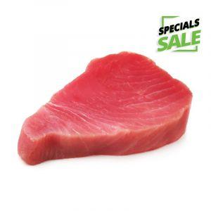 Tuna, Yellow Fin Steak IVP 4 oz (Frozen)